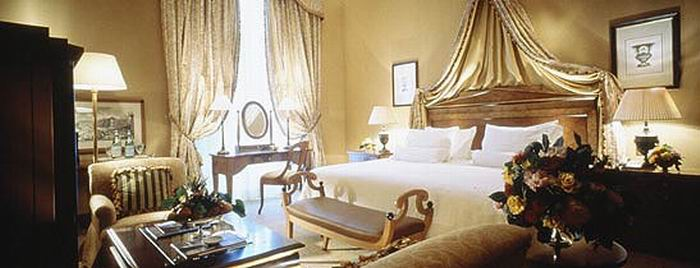 expensive hotel rooms 4: Villa La Capula Suite Westin Excelsior Rome